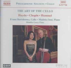 Bartolomey/inui/guca - The Art Of The Cello (CD)
