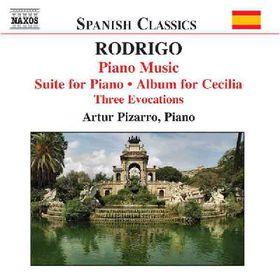Rodrigo - Rodrigo:piano Music Vol 2 (CD)