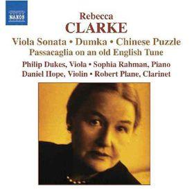 Clarke Rebecca - Viola Sonata; Passacaglia; Lullaby (CD)