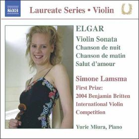 Elgar - Music For Violin & Piano (CD)