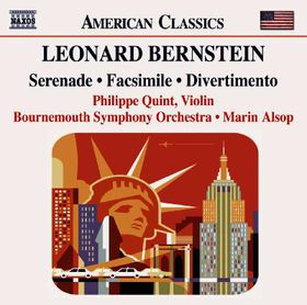Bernstein:Serenade Facsimile Divertim - (Import CD)