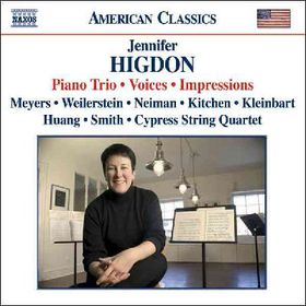 Higdon - Piano Trio Voices (CD)