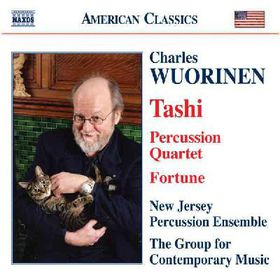 Wuorinen - Tashi, Fortune, Percussion Quartet (CD)