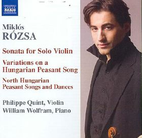 Rozsa:Music for Violin & Piano Son Op - (Import CD)