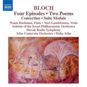 Bloch:4 Episodes Concertino Suite Mod - (Import CD)