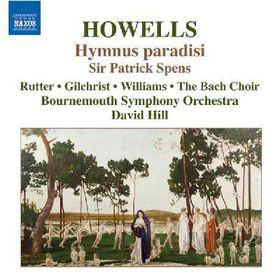 Rutter Williams - Howells:Hymnus Paradisi Sir Patrick S (CD)