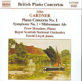 Gardner:Piano Cto No 1 Sym No 1 Midsu - (Import CD)