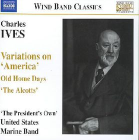 Ives United States Marine Band - Variations On America (CD)