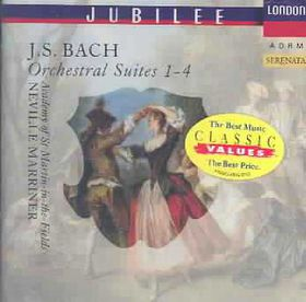 Academy Of St. Martin-In-The-Fields - Four Orchestral Suites Bwv 1066-1069 (CD)