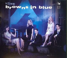 The 5 Browns - Browns In Blue (CD)