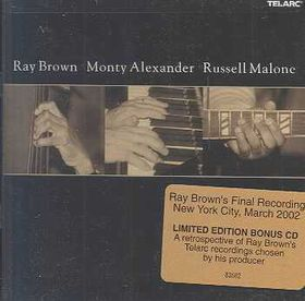Ray Brown - Ray Brown, Monty Alexander & Russell Malone (CD)