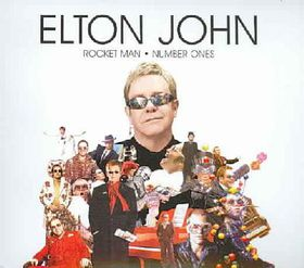 Rocket Man:Number Ones - (Import CD)