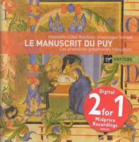 Dominique Vellard - Early French Polyphonies (CD)