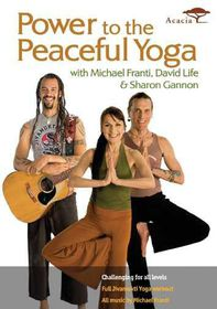 Power to the Peaceful Yoga - (Region 1 Import DVD)