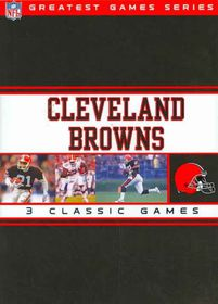 NFL Greatest Games Series: Cleveland Browns - (Region 1 Import DVD)