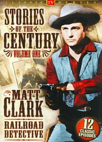 Matt Clark Railroad Detective: Stories of The Century Vol. 1-3 - (Region 1 Import DVD)