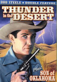 Bob Steele Double Feature: Son of Oklahoma/Thunder in The Desert - (Region 1 Import DVD)