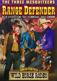 Three Mesquiteers: Range Defenders / Wild Horse Rodeo - (Region 1 Import DVD)