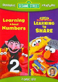 Sesame Street: Learning to Share/Learning About Numbers - (Region 1 Import DVD)