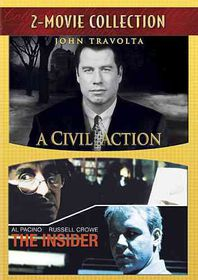 Civil Action/Insider - (Region 1 Import DVD)