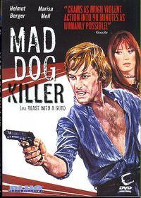 Mad Dog Killer Aka Beast with a Gun - (Region 1 Import DVD)