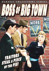 Boss of Big Town - (Region 1 Import DVD)