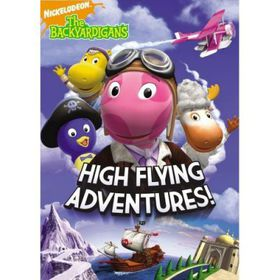 Backyardigans High Flying Adventures - (Region 1 Import DVD)