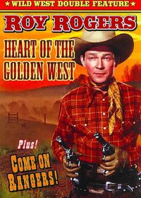 Roy Rogers Double Feature:Heart of Th - (Region 1 Import DVD)