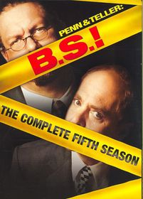 Penn & Teller B S:Complete Fifth Seas - (Region 1 Import DVD)