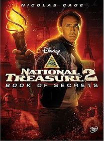 National Treasure 2:Book of Secrets - (Region 1 Import DVD)