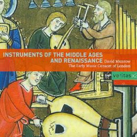 Munrow David - Instruments Of Middle Ages & Renaissance (CD)