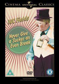 Never Give a Sucker an Even Break - (Import DVD)