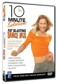 10 Minute Solution: Fat Blasting Dance Mix - (Import DVD)