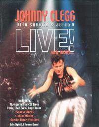 Johnny Clegg - Live & More (DVD)