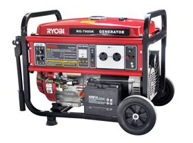 Ryobi - Generator 4-Stroke With Battery and Key Start - 7.5Kva