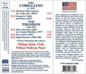 Quint, Philippe / William Wolfram - Red Violin Caprices (CD)