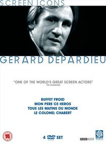 Gerard Depardieu Screen Icons Boxset - (Import DVD)