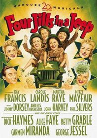Four Jills in a Jeep - (Region 1 Import DVD)