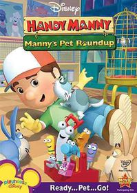 Handy Manny:Manny's Pet Roundup - (Region 1 Import DVD)