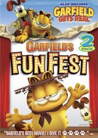 Garfield's Fun Fest / Garfield Gets Real - (Region 1 Import DVD)
