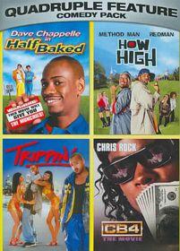 Comedy Pack Quadruple Feature - (Region 1 Import DVD)