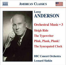 Anderson, Orchestral Works Vol 3 - Orchestral Works - Vol.3 (CD)