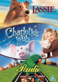 Charlotte's Web / Lassie / Paulie - (Import DVD)
