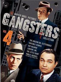 Warner Gangsters Collection Volume 4 - (Region 1 Import DVD)