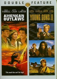 American Outlaws/Young Guns 2 - (Region 1 Import DVD)