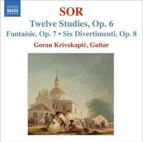 Sor:Twelve Studies Op 6 Fantaisie Op - (Import CD)