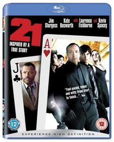 21 (2008) (Blu-ray)
