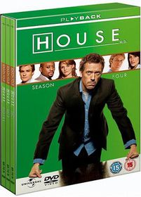House - Series 4 - (Import DVD)
