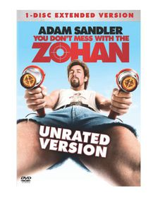 You Don't Mess with the Zohan - (Region 1 Import DVD)