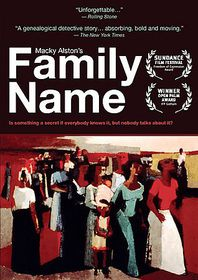 Family Name - (Region 1 Import DVD)